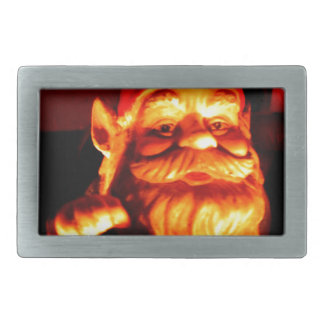 Glowing Gnome Rectangular Belt Buckle