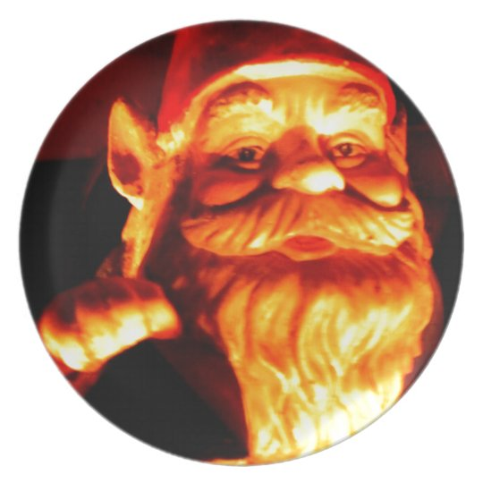 Glowing Gnome Dinner Plate