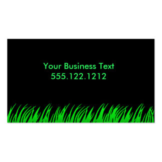 Glowing Grass Double-Sided Standard Business Cards (Pack Of 100)