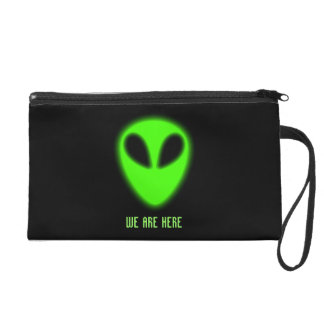 Glowing Green Alien Bagettes Bag