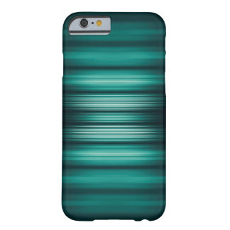 Glowing green and black stripes barely there iPhone 6 case