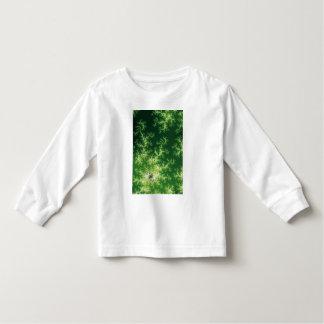 Glowing Green Fractal T-shirt