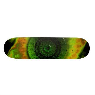 """Glowing Green Luminosity 7¾"""" Skateboard"""