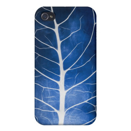 Glowing Grunge Veins iPhone 4 Case