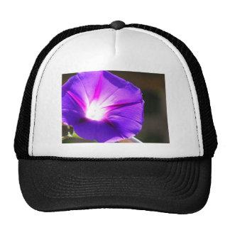 Glowing Heart Morning Glory Trucker Hats