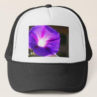 Glowing Heart Morning Glory Trucker Hat