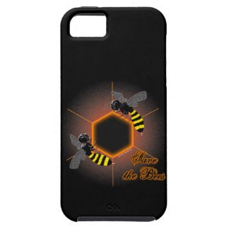 Glowing honeycomb iPhone 5 case
