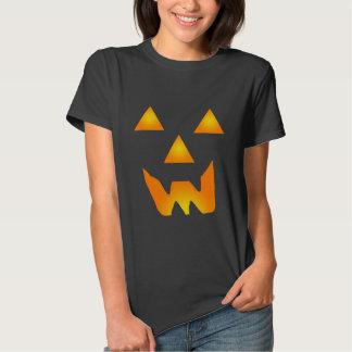 Glowing Jack O' Lantern Face Shirt 2