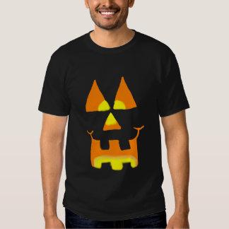 Glowing Jack O Lantern face shirt design