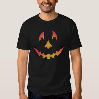 Glowing Jack O'Lantern Face Shirt