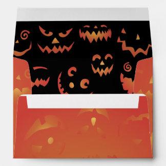 Glowing Jack o'Lanterns Gift Envelopes
