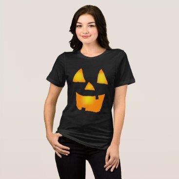 Halloween Themed Glowing Jackolantern 1 T-Shirt