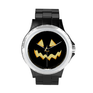 Glowing Jackolantern Wristwatches
