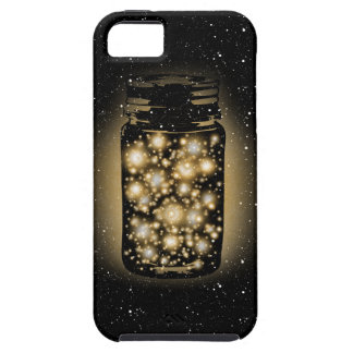 Glowing Jar Of Fireflies With Night Stars iPhone SE/5/5s Case