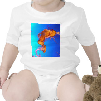GLOWING JELLYFISH BABY BODYSUITS