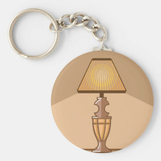 Glowing Lamp Keychain