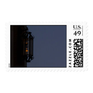 Glowing Lamp Postage Stamps
