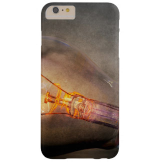 Glowing Light Bulb Cracked Glass Smoke Photo Barely There iPhone 6 Plus Case