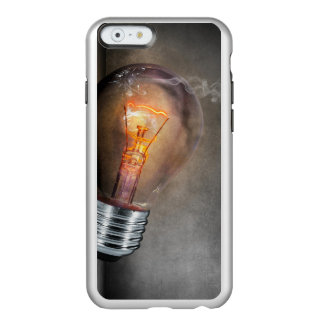 Glowing Light Bulb Cracked Glass Smoke Photo Incipio Feather® Shine iPhone 6 Case
