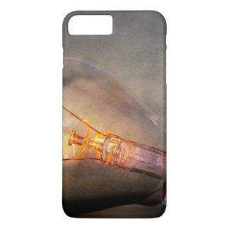 Glowing Light Bulb Cracked Glass Smoke Photo iPhone 7 Plus Case