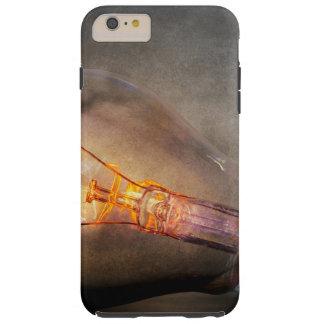 Glowing Light Bulb Cracked Glass Smoke Photo Tough iPhone 6 Plus Case