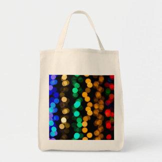 Glowing Light Pattern Canvas Bag