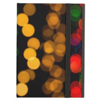 Glowing Light Pattern iPad Case