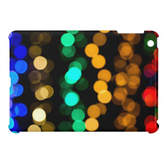 Glowing Light Pattern iPad Mini Case