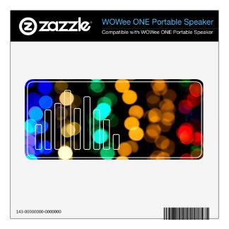 Glowing Light Pattern WOWee Speaker Skins