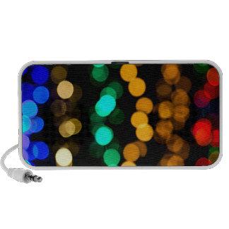 Glowing Light Pattern Portable Speaker