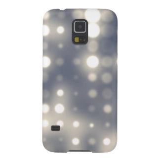 Glowing Light Polka Dot Pattern Galaxy S5 Cover