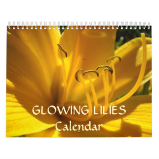 Glowing LILIES Calendar Gifts Holiday LILY Flowers