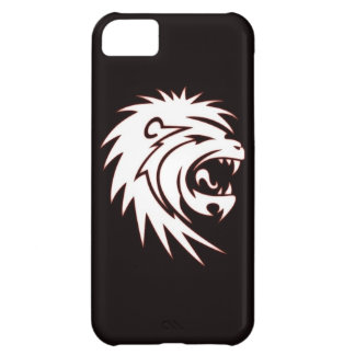 Glowing lion case for iPhone 5C