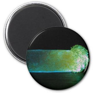 Glowing luminous pill magnet