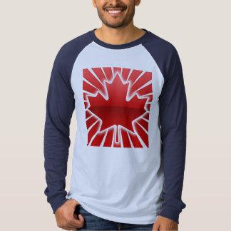 Glowing maple leaf t-shirt