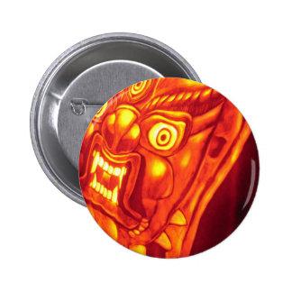 Glowing Monster Pin
