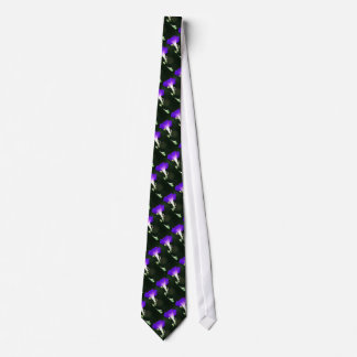 Glowing Morning Glory Tie