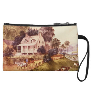 Glowing Moving Clean Giving Wristlet Clutch