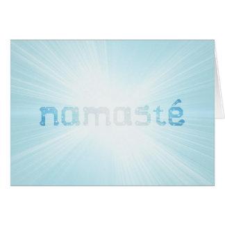 Glowing Namaste Card