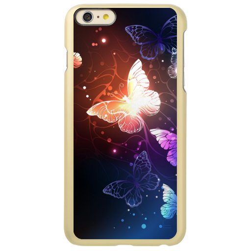 Glowing Night Butterflies Incipio Feather Shine iPhone 6 Plus Case