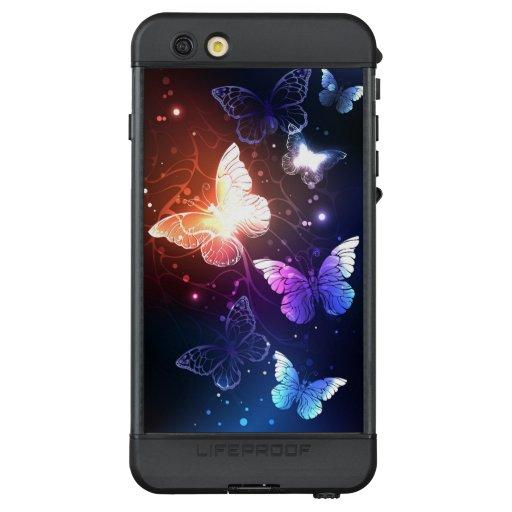 Glowing Night Butterflies LifeProof NÜÜD iPhone 6s Plus Case