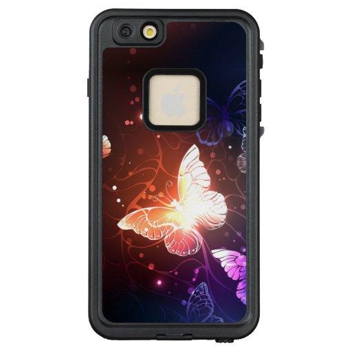 Glowing Night Butterflies LifeProof FRĒ iPhone 6/6s Plus Case
