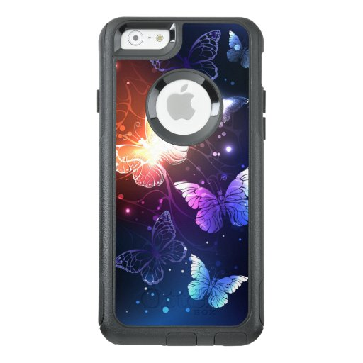 Glowing Night Butterflies OtterBox iPhone 6/6s Case