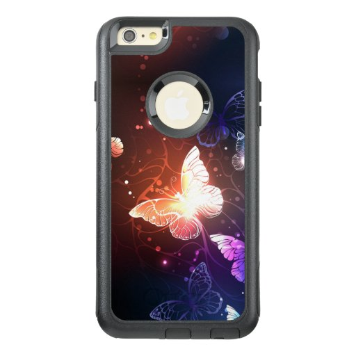 Glowing Night Butterflies OtterBox iPhone 6/6s Plus Case