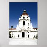 Glowing Pasadena's City Hall Posters