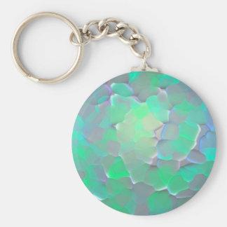 Glowing Pattern Keychain
