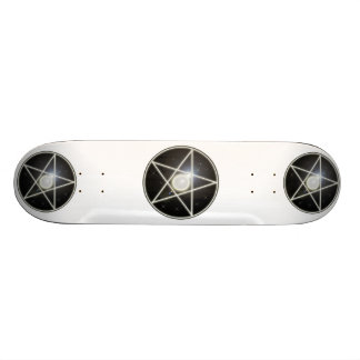 Glowing Pentagram 1 Skateboard