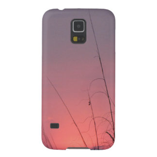 Glowing Pink and Purple Sunset Case For Galaxy S5