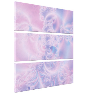 Glowing Pink Canvas Print