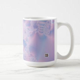Glowing Pink Coffee Mug